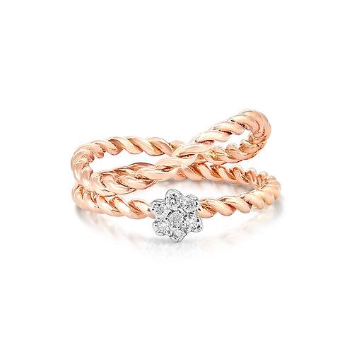 White & Rose Engagement Set