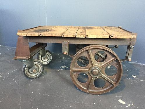 Luggage trolley coffee table