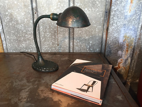 Antique American table lamp
