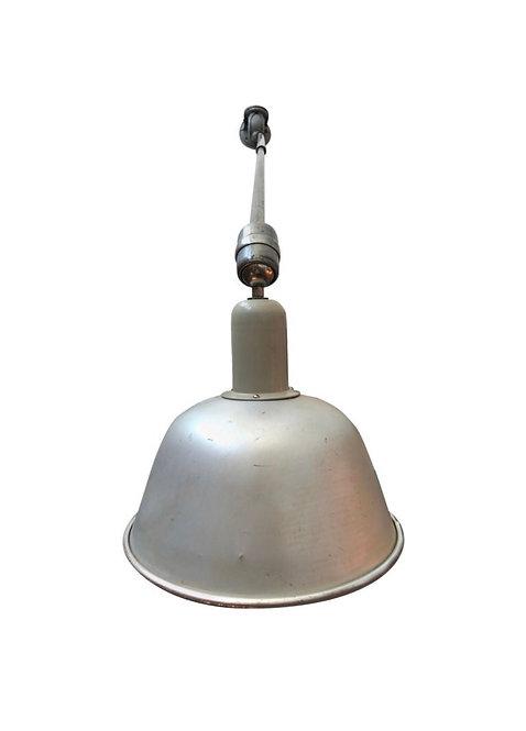 Classic Vintage Triplex Work Lamp by Johan Petter Johansson for ASEA of Sweden