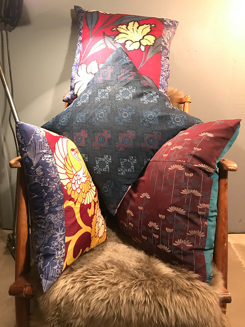 Vintage Kimono Cushions