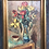 Thumbnail: Large Beautiful Oil on Canvas of a Flower Setup from 1936 by Ludvig Jacobsen