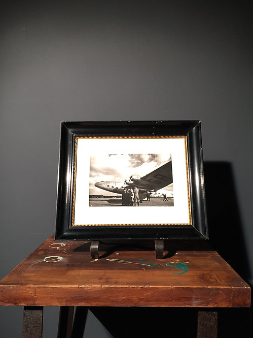 Press photo of an Armstrong Whitworth Ensign airliner