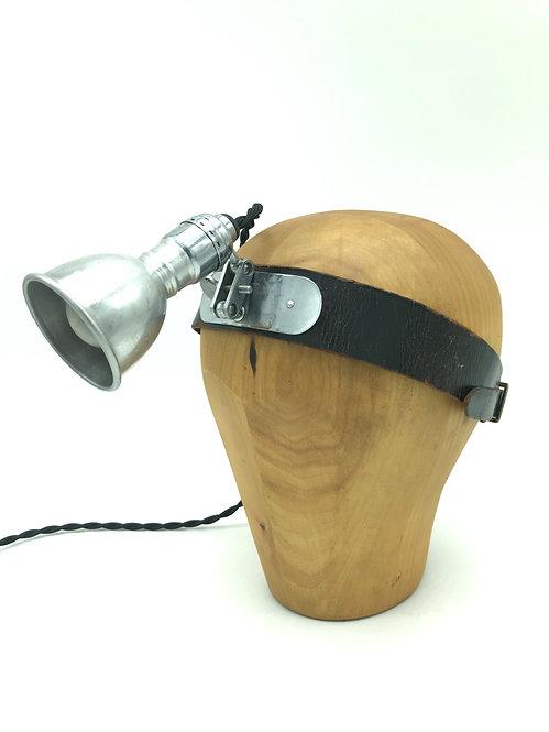 Antique Surgeons Head Lamp
