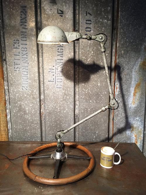 Mid century industrial table lamp