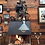 Thumbnail: Antique Triplex telescopic work lamp from the 1930s