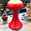 Thumbnail: Large Vintage Retro Porcelain Table Lamp from the 1960s