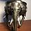 Thumbnail: Rare Antique Cold Painted Bronze Elephant Table Lamp