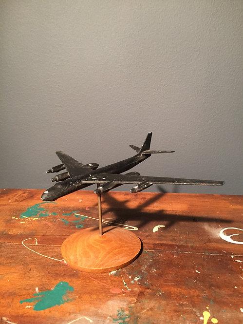 Mid century military bomber model