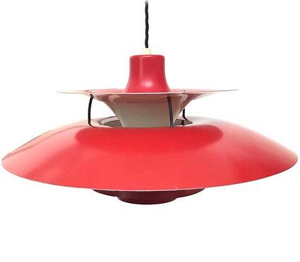 Iconic Vintage 1959 Poul Henningsen PH 5 Chandelier Pendant Lamp