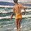 Thumbnail: Christian Aabye Tage Oil on Canvas of Beach Scene