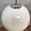 Thumbnail: Vintage Vilhelm Lauritzen for Louis Poulsen Opaline Globe Pendent Chandeliers