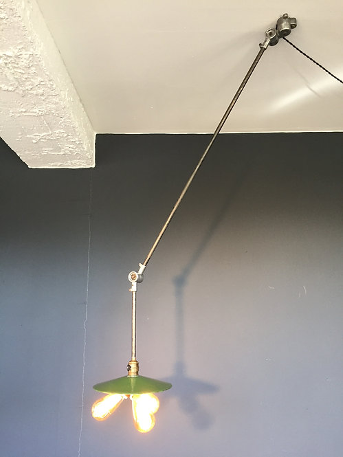 Industrial French Sanfil task lamp