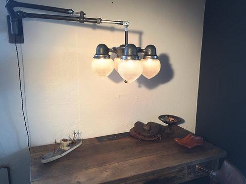1930s Holophane Medical Lamp