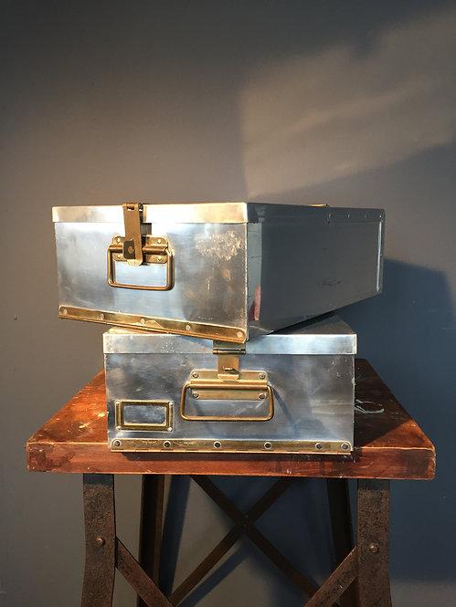 Vintage bank box