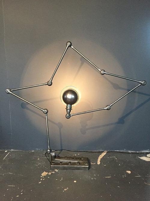 Jielde industrial 8 arm floor lamp