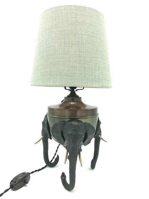 Extremely Rare Elephant Table Lamp