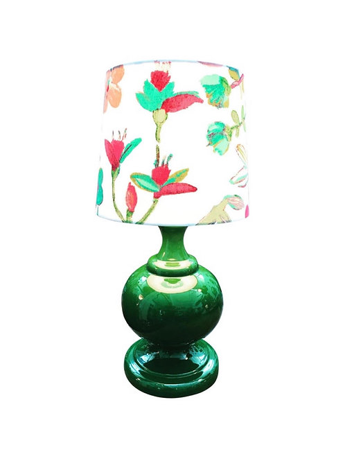 Large Vintage Retro Porcelain Table Lamp from the 1960s