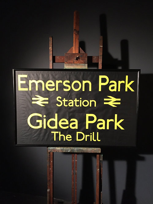 Bus destination blind Emerson Gidea