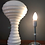 Thumbnail: Stunning Verner Panton Table Lamp in Hand Blown Opaline Glass for Holmgaard