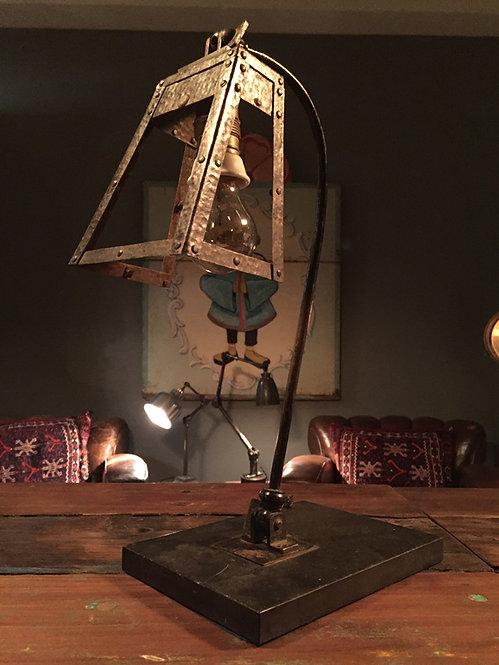 Scratch built table lamp