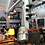 Thumbnail: Classic Vintage Triplex Work Lamp by Johan Petter Johansson for ASEA of Sweden