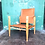 Thumbnail: A Pair Of Vintage Refurbished Kaare Klint Safari Chairs