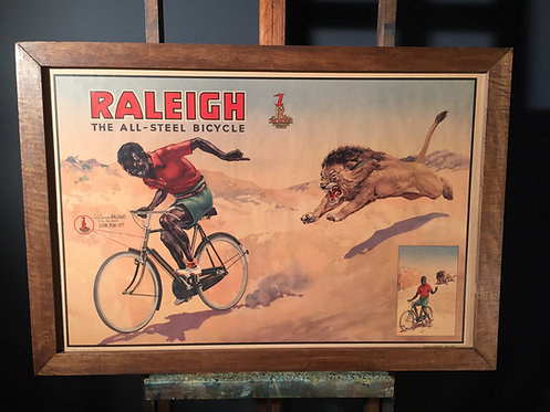 Early century raleigh poster