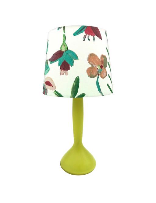 Vintage Danish Table Lamp by Kastrup Glass for Holmegaard