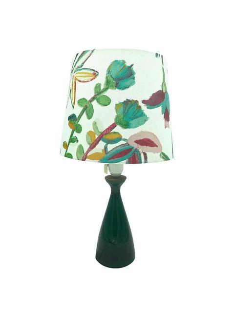 Vintage Danish Table Lamp from Kastrup Glass for Holmegaard