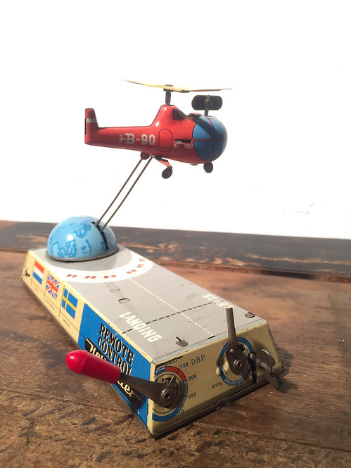 1960s West German remote control helicopter