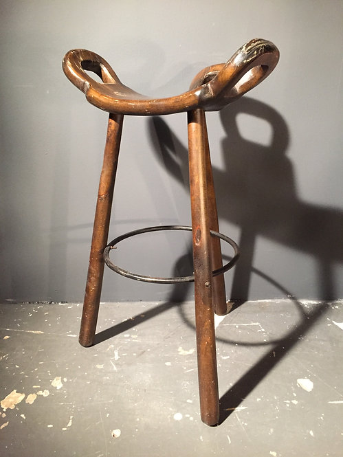 "Vintage Spanish bar stool ""Marbella"""