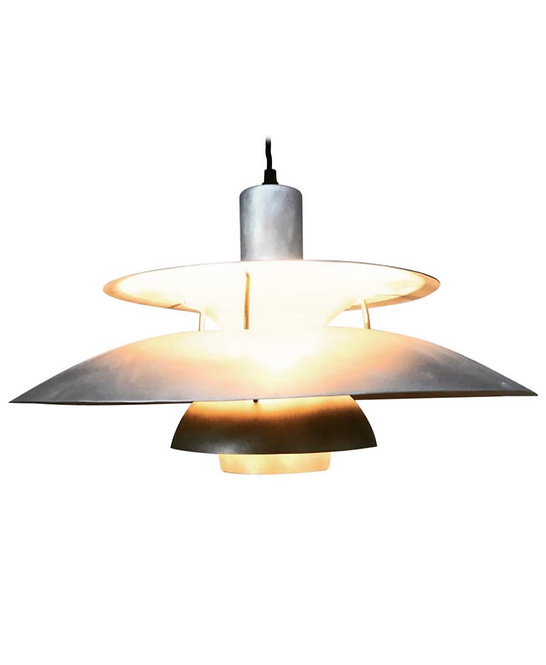 Rare Iconic Vintage 1958 Poul Henningsen PH 5 Chandelier Pendant Lamp