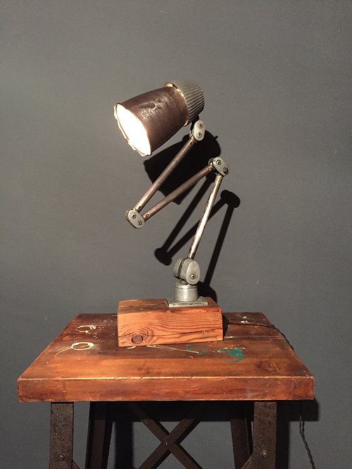 Lo-Vo-Lite industrial lamp