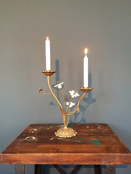 French candle holder