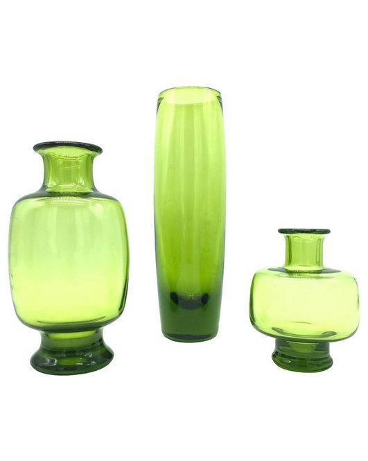 Set of Vintage Royal Copenhagen Glass Designed by Per Lutken for Holmegaard