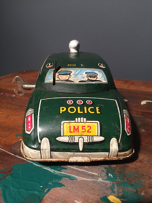 1949 Dick Tracey patrol car