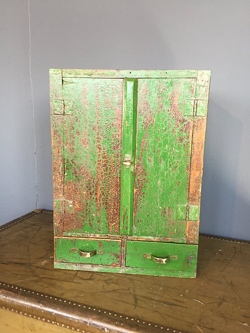 Gargoyle marine oil crate