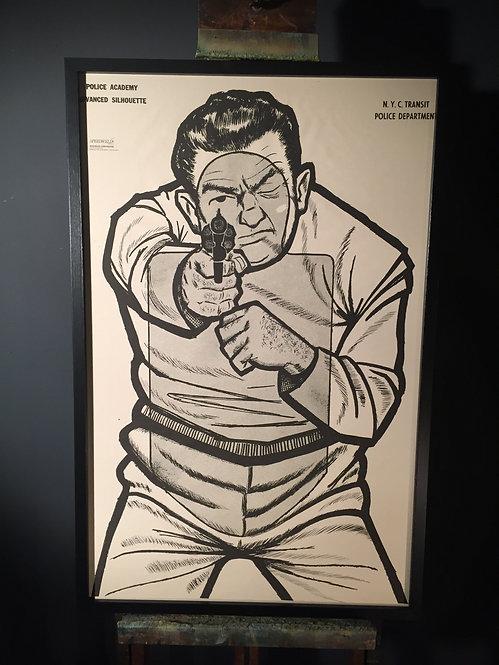 NYC Police Department shooting target