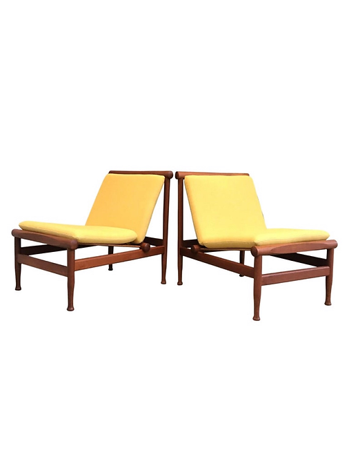 Vintage Kai Lyngfeldt Larsen Lounge Chairs