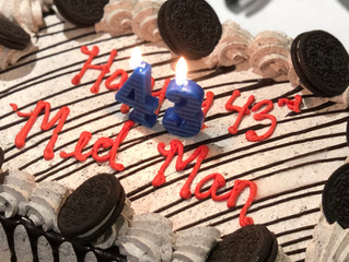 Happy birthday, MedMan!