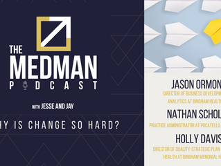Why Is Change So Hard? with Jason Ormond, Holly Davis, and Nathan Scholes.
