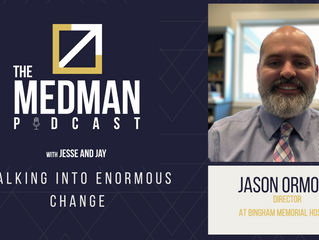 Walking Into Enormous Change with Jason Ormond
