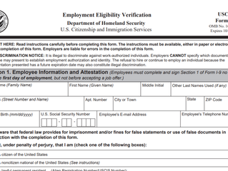 Completing and Keeping Employee I-9s