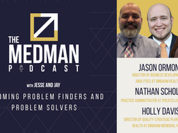 Becoming Problem Finders And Problem Solvers with Jason Ormond, Holly Davis, and Nathan Scholes.
