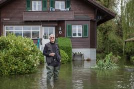 Innondations Lac de Bienne