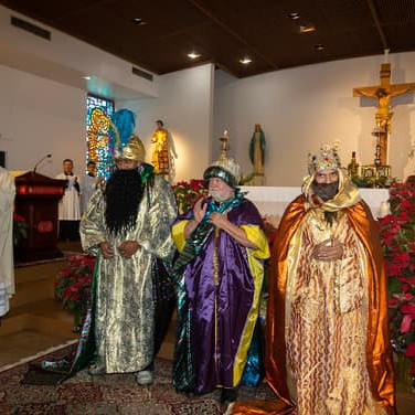 Celebration of the three kings