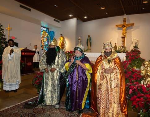 Celebration of the three kings