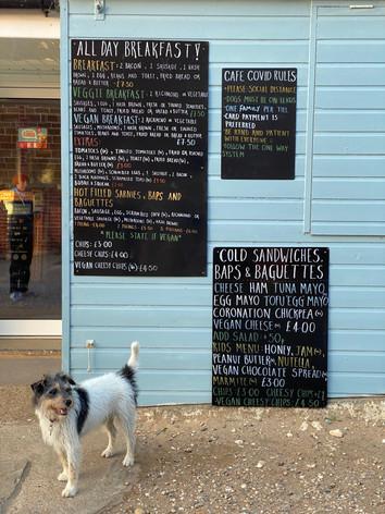 The Old Town Beach Café menu Old Hunstanton