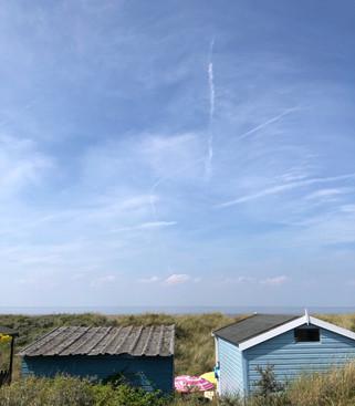 Sandy Bottom beach hut Old Hunstanton